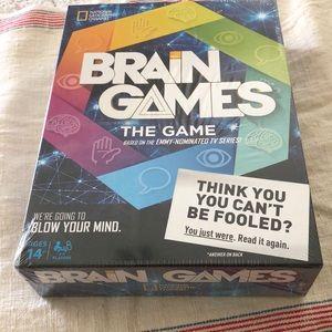 NIB, Unopened, Nat'l Geographic Brain Games